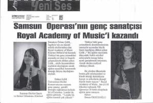Samsun Operasının Genç